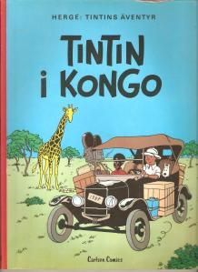 Tintin i Kongo 001